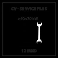CV Service Plus 12 mnd 40kW-70kW per maand