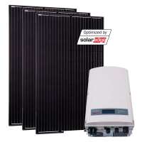Grid-Kit Comfort SolarEdge/Ja-Solar 12 Modules